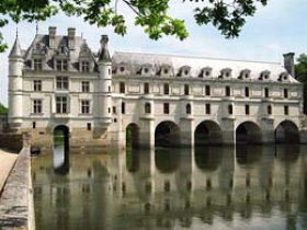 The Loire Castles are the most famous castles near Paris