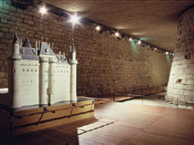 The Louvre has medieval walls