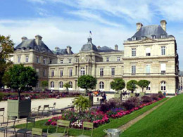 The Senate is housed in Luxembourg Palace