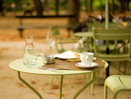 Cafe in Luxembourg Gardens
