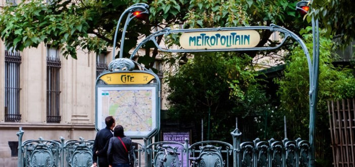 Paris metro station Cité