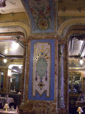 Mollard is our favorite Art Nouveau brasserie in town