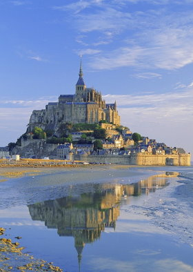Mont Saint Michel is a medieval marvel off the coast