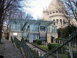 Take cable car to Sacre Coeur with Paris metro pass