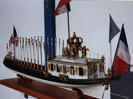 Shipmodel at Paris Maritime Museum