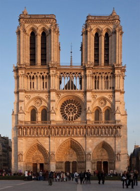 Notre Dame is in fourth arrondissement