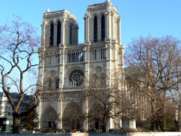 Top Paris attractions: Notre Dame