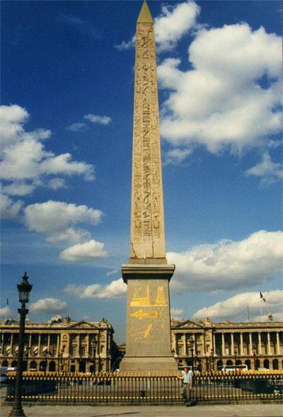Place De La Concorde  History  Obelisk  Metro