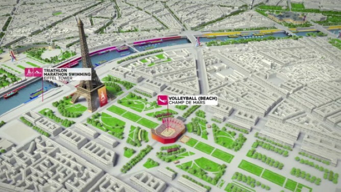 Olympics 2024 and the Eiffel Tower