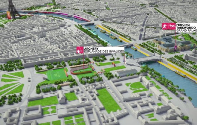 Olympics 2024 and the Invalides