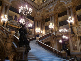The stairs of Opera Garnier