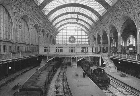 Housed in former 1900 Orsay train station , the Orsay Museum is the ...