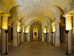 The crypt in Le Pantheon