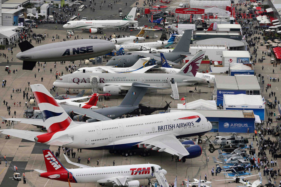 paris air show le bourget 2017