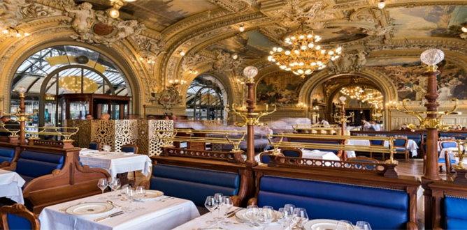 Paris art nouveau restaurants deco