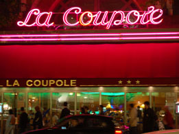 Paris brasserie: La Coupole