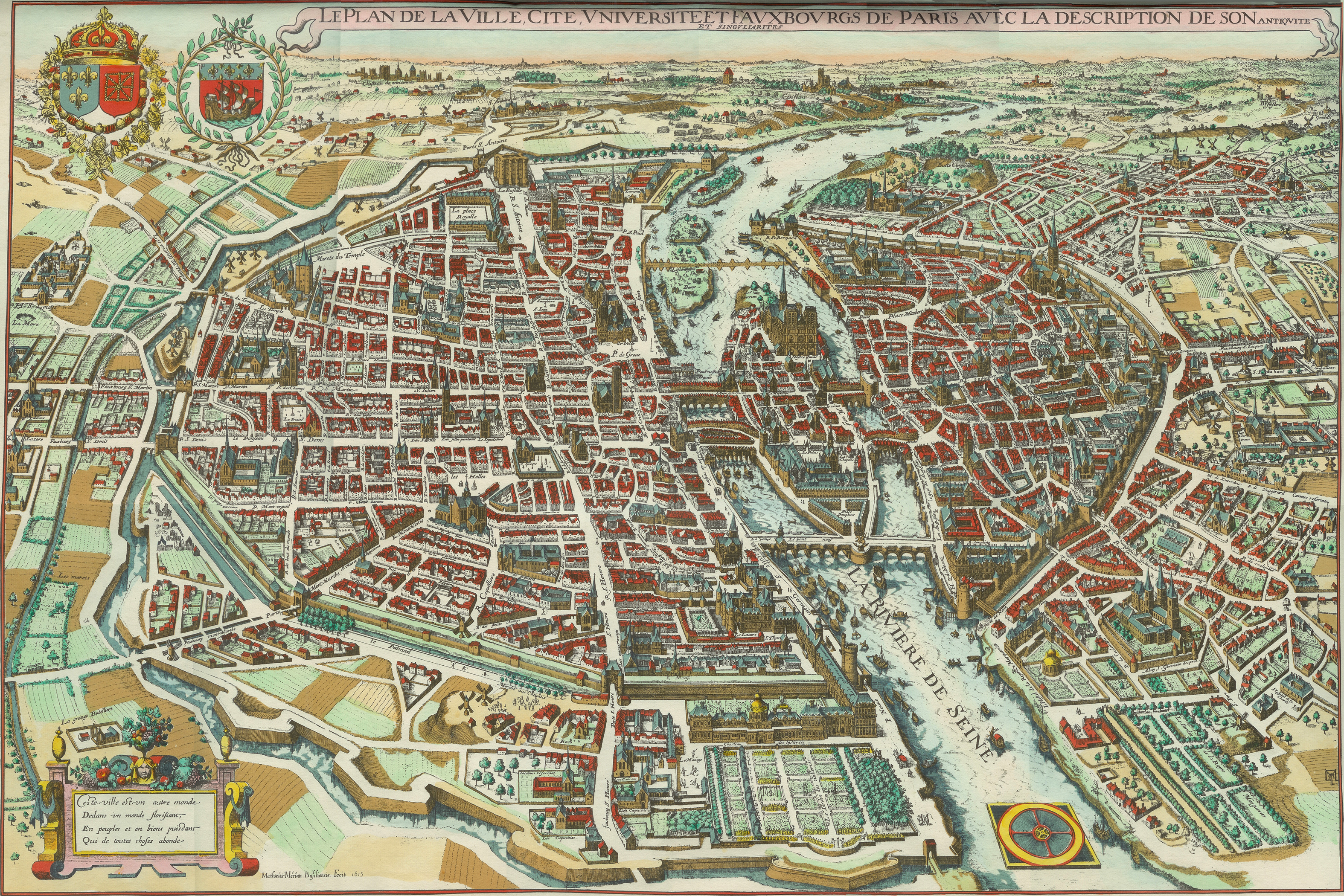 Paris History Facts Paris History For Kids Sights History - Artistic map of paris