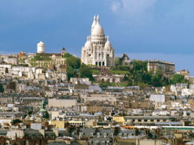 Montmartre is Paris highest point