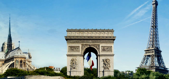 Paris Monument Map Top Monuments On Paris Map - Paris map monuments