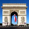 Paris monuments: Arc de Triomphe