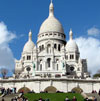 Paris monuments: Sacre Coeur