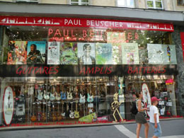 Paris music stores: Paul Beuscher