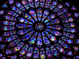 Notre-Dame cathedral rose window