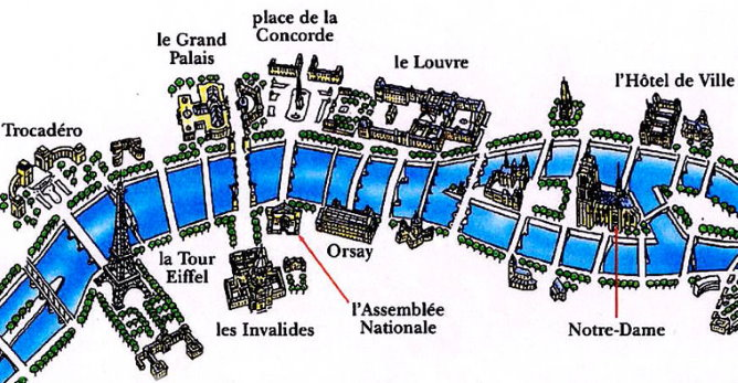 River In Paris  The River Seine  Facts  Map  Sights