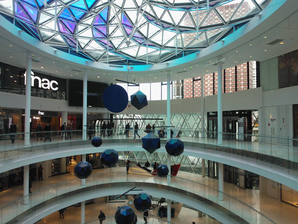Beaugrenelle Shopping Mall In Paris