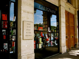 Paris shopping: Galignani