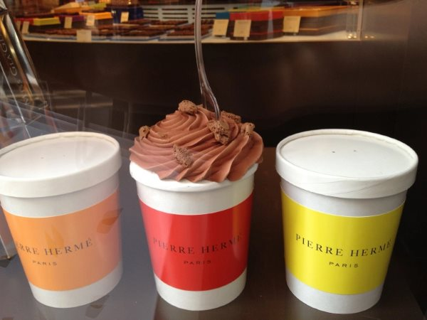 Ice creams by Pierre Hermé