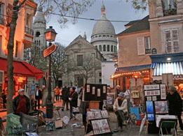 Place du tertre the picturesque montmartre village square - Place saint pierre paris ...