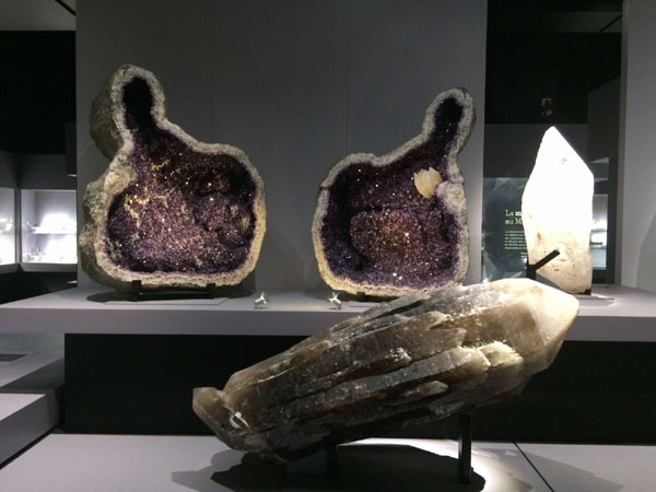 Amazing minerals in the gallery