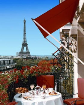 Paris hotels near Champs Elysees: Plaza Athenee
