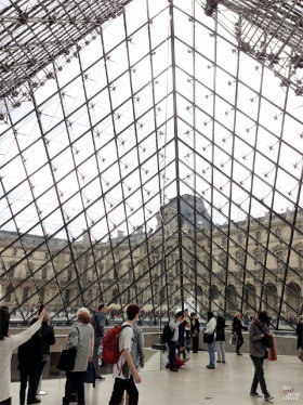 The Louvre is in first arrondissement