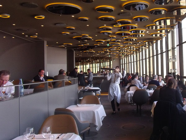 Le ciel de Paris restaurant