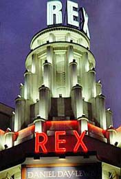 The Rex movie theater in Paris