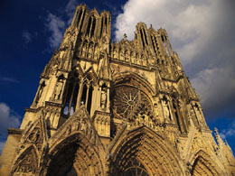 Reims Cathedral is a famous place in France