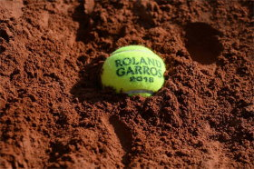 Roland-Garros is played on clay