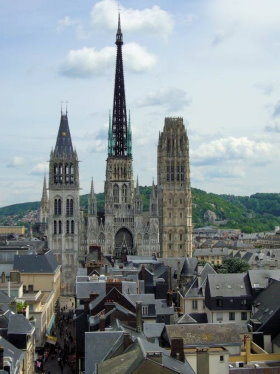 Rouen is the capital of Normandy