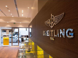 Luxury watches in Paris. Breitling, 10, rue de la Paix