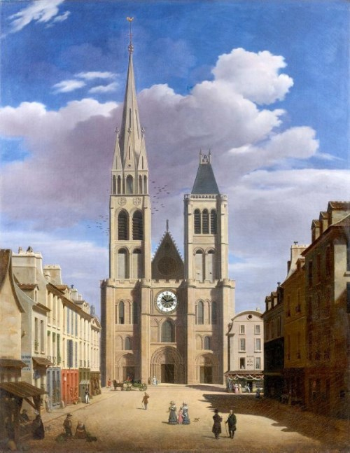 Saint-Denis as it was before 1846