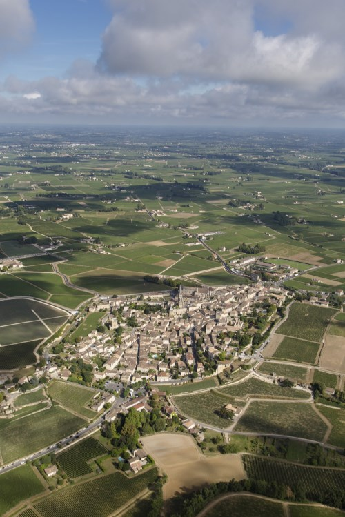 Saint Emilion from the sky