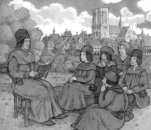 universities in middle ages We like to think that we have moved on from the middle ages, but do universities from that period have something to teach us about the role of government in education.