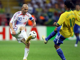 Zidane and Ronaldo in Stade de France
