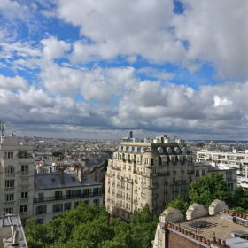 View from Timhotel in Montmartre