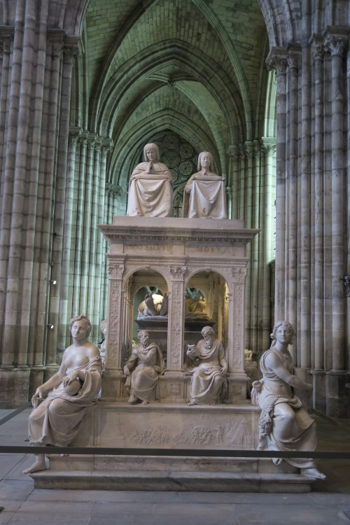 The tomb of Louis XII and Anne de Bretagne