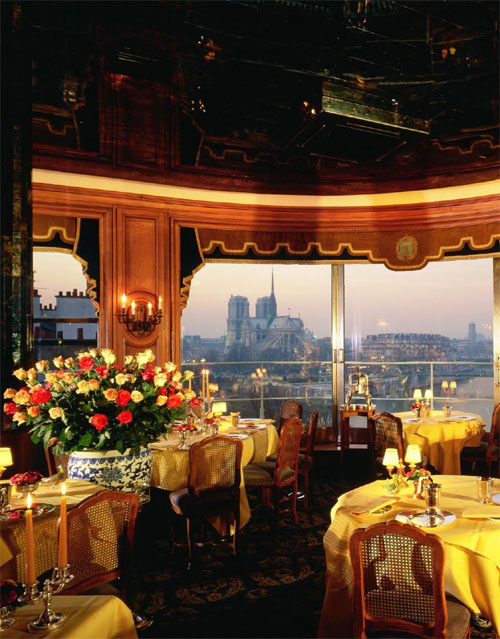 Paris Restaurants With Eiffel Tower View Or City View