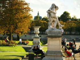 Les Tuileries Gardens are a beautiful park
