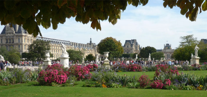 Les Tuileries Gardens, Paris